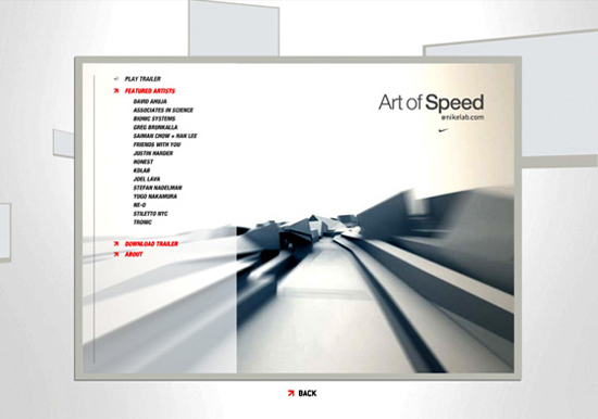 Nike – The Art of Speed