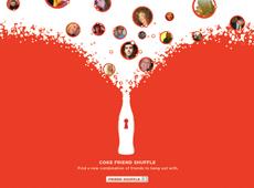 """Coke – """"Friend Shuffle"""" Facebook App"""