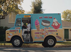 Uber Eats – Ice Cream
